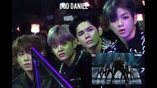 Video Wanna one 워너원 reaction to BTS 방탄소년단 MIC DROP REMIX @ MAMA 2017 ( KANG DANIEL, SEONGWU, LEE DHEHWI) MP3, 3GP, MP4, WEBM, AVI, FLV Juli 2018