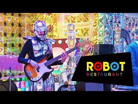 Robot Restaurant in Tokyo, Japan: Crazy and Weird — BUT Fun!