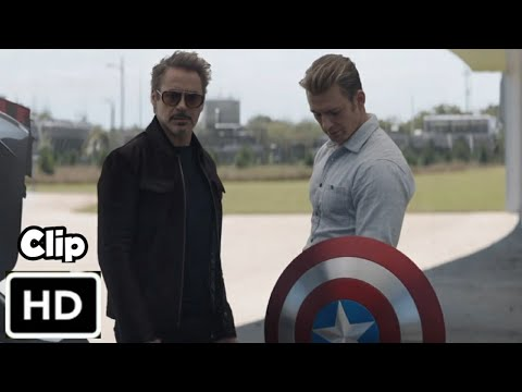 Captain New Shield Hindi Avengers Endgame 2019 HD 4K Scene