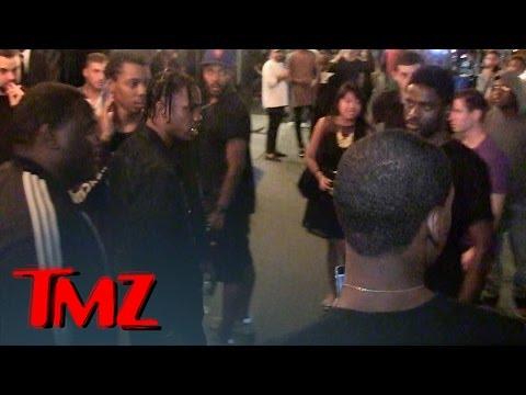 Rapper Travis Scott -- Lunges at Fan ... I'M Not A$AP Rocky!   TMZ