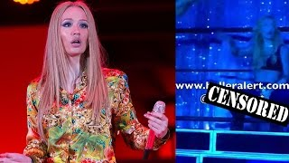 Iggy Azalea FLASHES Crotch During Bar Mitzvah Performance