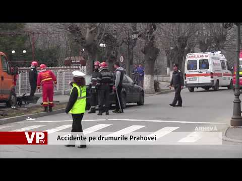 Accidente pe drumurile Prahovei