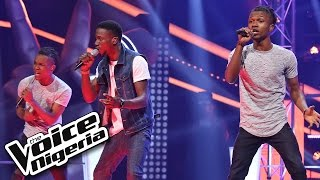 Gabriel Songs vs DNA  'As Long As You Love Me' /  The Voice Nigeria 2016