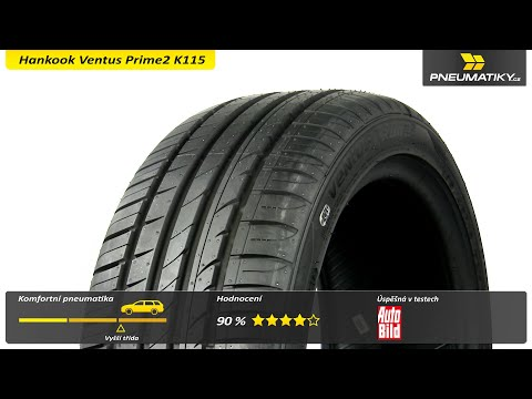 Youtube Hankook Ventus Prime2 K115 215/50 R17 95 V XL Letní
