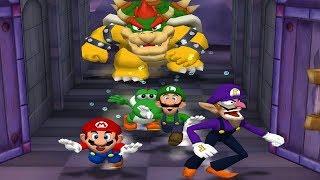 Mario Party 5 Mini Games - Mario Vs Yoshi Vs Luigi Vs Waluigi (Master CPU)