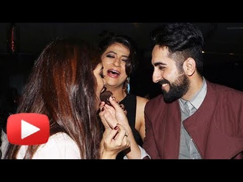 Ayushmann Khurrana Birthday Celebration With Bhumi