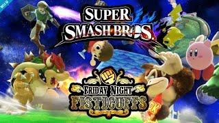 Super best friends play smash Wii U!