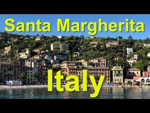Santa Margherita Ligure, Italy, people and piazzas