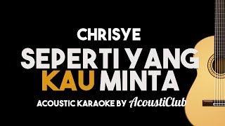 Video Chrisye - Seperti yang Kau Minta (Acoustic Guitar Karaoke With Lyrics) MP3, 3GP, MP4, WEBM, AVI, FLV Juli 2018