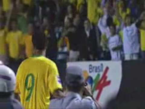 Brasil 2 - Uruguay 1, un día inolvidable para Luis Fabiano