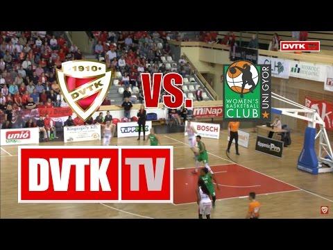 Női kosárlabda NB I. elődöntő, harmadik mérkőzés. Aluinvent DVTK - CMB Cargo UNI Győr