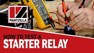 6. How to Test a Starter Relay on a Motorcycle, ATV, or UTV | How to Test a Starter Solenoid