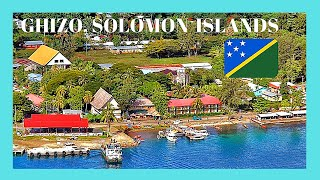 Island of Ghizo, SOLOMON ISLANDS (Pacific Ocean): Let's go for a tour around this spectacular island in the Solomon Islands and let's enjoy the Micronesian ...