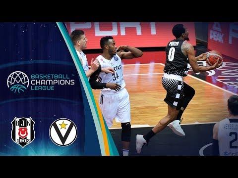 Virtus, gli highlights del match contro il Besiktas