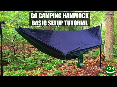 how to set up the go camping hammock ridgeline  u0026 bug   basic tutorial   we manufacture cutting edge hammocks camping gear and accessories  how to set up the go camping hammock ridgeline  u0026 bug   basic      rh   gooutfitters co