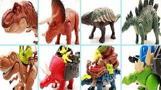 Video 4 Dinosaurs Transformer Dino Robot! Dinosaur Toys For Kids. Learn Dinosaur Names~ MP3, 3GP, MP4, WEBM, AVI, FLV Maret 2019