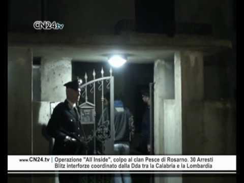 """Operazione """"All Inside"""", colpo al clan Pesce di Rosarno. 30 Arresti"""