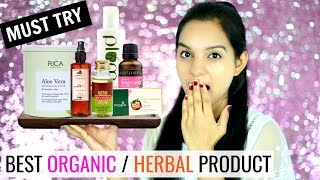 Watch More -  https://goo.gl/62tLVQI get a lot of comments to suggest alternate products for my DIYs as sometimes we all are busy and don't have enough time for the DIYs so in this video I have shared some of the Best Organic/Herbal products that you must try. They are all available on SALE on Nykaa so do check them out.Don't forget to TAG & SHARE it with your friends.PRODUCTS SHOWN:---------------------------------Biotique Bio Almond Oil Nourishing Body Soap https://goo.gl/vsq1sAKama Ayurveda Mridul Soap Free Face Cleanser https://goo.gl/RbX85tSoulflower Grapeseed Carrier Oil - Coldpressed https://goo.gl/tVDzcCSoulflower Charcoal You Smell Good Soap https://goo.gl/N4L3UQKama Ayurveda Pure Rose Water https://goo.gl/mwLqPAInveda Sweet Almond Oil https://goo.gl/MxFea6Biotique Bio Papaya Revitalizing Tan-Removal Scrub https://goo.gl/urhZsYVLCC Punarnava Astringenthttps://goo.gl/qifY6EHealthVit Activated Charcoal Powder https://goo.gl/6PKNpdPlum Green Tea Mattifying Moisturizer https://goo.gl/p8zv9DRica Aloe Vera Wax For Sensitive Skin https://goo.gl/cKJkC7Biotique Blissfull Lavender Eau De Toilette https://goo.gl/8ZE7S2OTHER AMAZING OFFERS:Nykaa Sale https://goo.gl/32NSf3The Face Shop Offers https://goo.gl/oWdgkeInnisfree Offers https://goo.gl/H9eTnF~ Love♥ Pretty Priya ♥NEW UPLOADS every Monday & Friday!! ▷ CONNECT with us!! ♥ YOUTUBE - https://www.youtube.com/PrettyPriyaTV♥ FACEBOOK - https://www.facebook.com/PrettyPriyaTV/♥ TWITTER - https://twitter.com/PrettyPriyaTV♥ INSTAGRAM - https://www.instagram.com/PrettyPriyaTV/♥ SNAPCHAT - @PrettyPriyaTV ♥ BUSINESS INQUIRY - PrettyPriyaTV@gmail.comAUDIO DISCLAIMER/CREDITS –The background music is either taken from royalty free site and/or from the below sources under proper usage licence specified below –DISCLAIMER: The information provided on this channel and its videos is for general purposes only and should NOT be considered as professional advice.