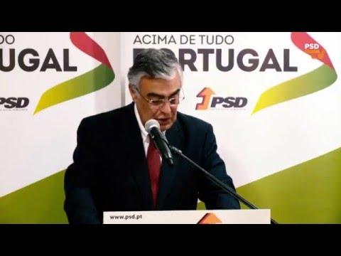 José Matos Rosa na Tomada de Posse do PSD Miranda do Corvo