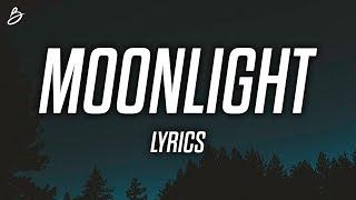Ali Gatie - Moonlight (Lyrics / Lyric Video)