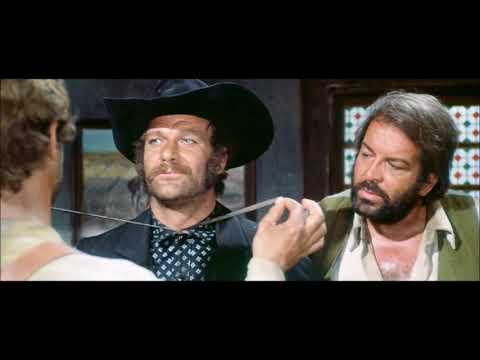 Bud Spencer e Terence Hill - Trinità - Quello ti ha guardato e si è messo a ridere. Rissa al saloon