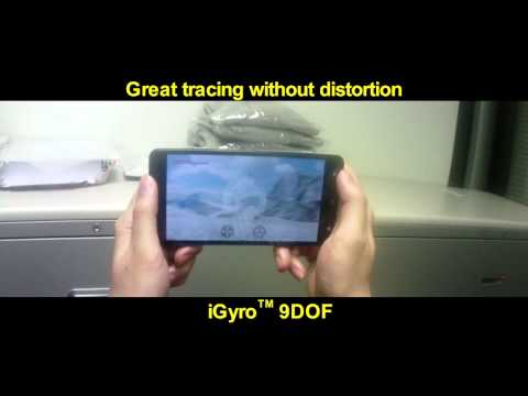 mCube iGyro Demo 2 - iGyro vs Other 9DOF