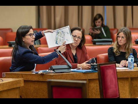 Intervención de Ana Vázquez en la Comisión de Interior del Congreso