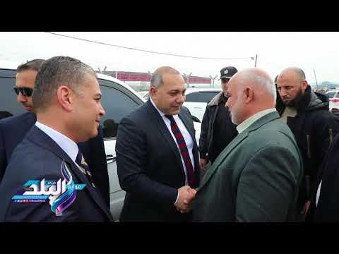 صدى البلد   شاهد.. زيارة الوفد الأمني المصري إلى قطاع غزة
