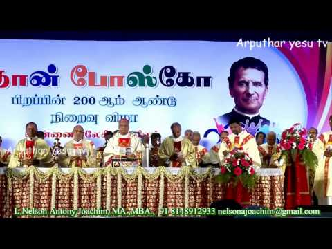 Video Don Bosco 200 Years Conclusion Mass By Archbishop George Antonysamy download in MP3, 3GP, MP4, WEBM, AVI, FLV January 2017