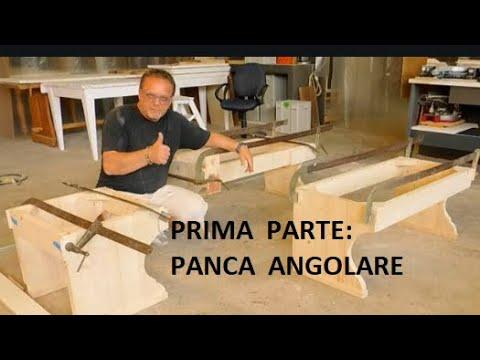 Prima parte: PANCA ANGOLARE IN ABETE giropanca WOOD legno DIY faidate FALEGNAME