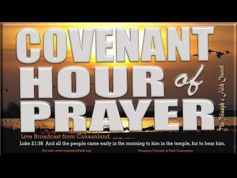 Covenant Hour of  Prayer,  May 22, 2018 (видео)
