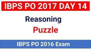 Reasoning Puzzle Question asked in IBPS PO 2016 Mains ( memory based) for IBPS PO  IBPS RRB PO in hindiJoin Telegram Channel : https://t.me/studysmartbychandrahasLike Our Facebook Page: https://goo.gl/s4l4ZOFollow us on Twitter: https://goo.gl/rvVpDLJoin Our Facebook Group : https://goo.gl/fGDu1d******************************************************Word Power Made Easy Series : https://goo.gl/6siIR5Coding- Decoding New Pattern: https://goo.gl/SnrS6MEconomics Lectures: https://goo.gl/XUYM30Reasoning for SBI PO: https://goo.gl/61e9miSyllogism New Pattern: https://goo.gl/KvzfbJEnglish New Pattern : https://goo.gl/Ci290cData Sufficiency: https://goo.gl/NSxIUaAll Reasoning Ability Videos : https://goo.gl/o4BwxSAll Quantitative Aptitude Videos: https://goo.gl/p8jorgBinary Coding : https://goo.gl/Y2NN5ZCoding Decoding : https://goo.gl/TfxEsySpotting Error : https://goo.gl/Xdll51Order and Ranking : https://goo.gl/yM9tYuStatic Gk : https://goo.gl/uEIPSLAlphanumeric Series : https://goo.gl/UKOEJFMensuration : https://goo.gl/WcrD0UDirection Sense : https://goo.gl/3z1qGUComputer Awareness Videos : https://goo.gl/OccvRSAverage Aptitude Tricks : https://goo.gl/t84F1lReasoning puzzle tricks : https://goo.gl/eKnb8CRatio and Proportion Tricks: https://goo.gl/Zepp2LPartnership Problems Tricks For IBPS PO :https://goo.gl/0pUwqnTime And Work Problems Shortcuts and Tricks: https://goo.gl/qn15TpPercentage Problems Tricks and Shortcuts: https://goo.gl/krGtAeTime Speed and Distance : https://goo.gl/unELgnProbability : https://goo.gl/FswNBmMixture and Alligation Tricks : https://goo.gl/TBqbEN Blood Relation Tricks : https://goo.gl/yAOE2CPermutations and Combinations Tricks : https://goo.gl/gSALX0Quadratic Equations Tricks : https://goo.gl/ZDyDkWProfit and Loss Tricks: https://goo.gl/NOO6p6Number Series Tricks: https://goo.gl/qcvqejBanking Awareness (Static) : https://goo.gl/JelscLInequalities Short tricks: https://goo.gl/qQo2kcSpeed Maths video : https://goo.gl/7er1OQSimplification And Appr