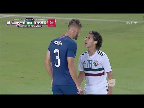 Diego Lainez vs USA (Friendly) - 9/11/18 HD 720p By EE