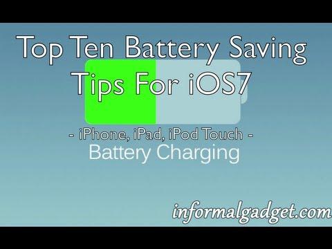 how to make i-p-h-o-n-e battery last longer