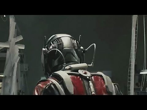 Paul Rudd Ant-Man Test Footage!!