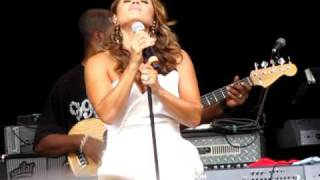 """Tamia Singing """"Me"""" at Central Park SummerStage"""