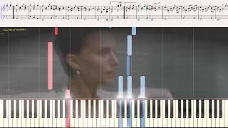 Очи чёрные (романс) (Ноты и Видеоурок для фортепиано) (piano cover)
