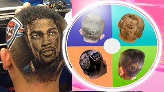 """If the Wheel lands on """"Haircut"""" I have to get a KD haircut...."""