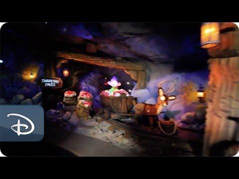 Sneak peek: Disney's new Seven Dwarfs Mine Train (video)
