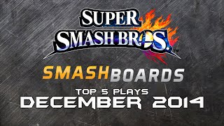 EvenMatchupGaming – Top 5 Smash Bros WiiU / 3DS Plays of December 2014
