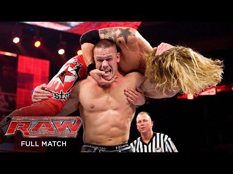 FULL MATCH - Edge vs. John Cena – World Heavyweight Title Match: Raw, March 2, 2009
