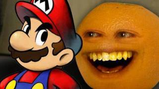 Annoying Orange - Super Mario