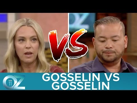 The two interviews of Kate & Jon Gosselin at the Dr. Oz Show