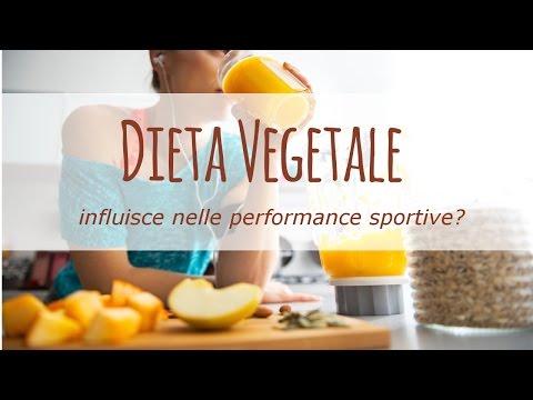 la dieta vegetale influisce sulle performance di uno sportivo?