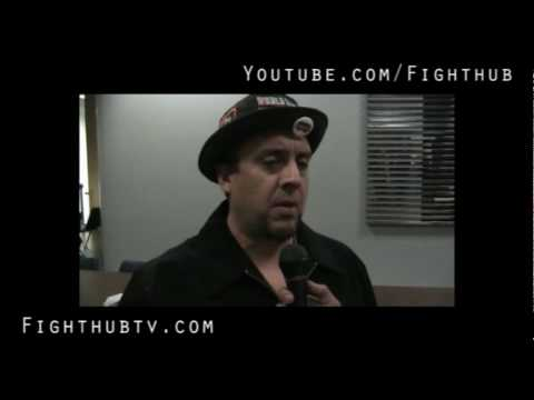 Juanito Ibarra talks training with James Toney Hes in mma now his boxing style has to change a bi