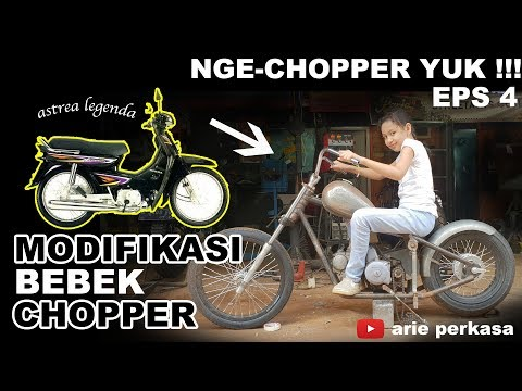 modifikasi bebek chopper - ngechopper yuk eps 4