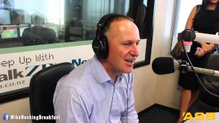 ZBTV: John Key wraps up 2014 on the Mike Hosking Breakfast