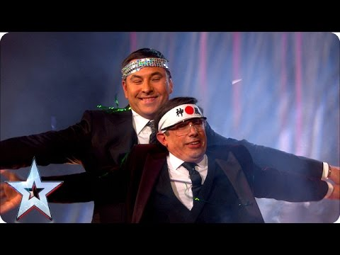Christian Lee recruits David Walliams Britain's Got Talent 2016