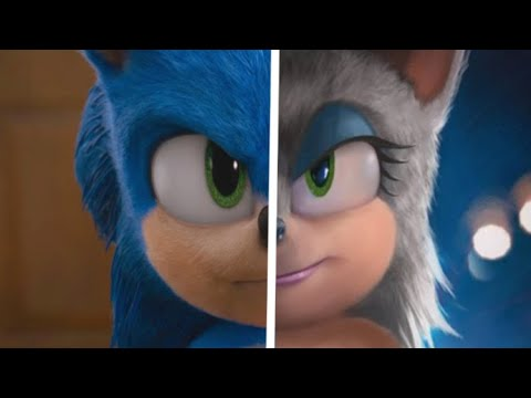 Sonic The Hedgehog Movie Choose Your Favorite Desgin For Both Characters (Sonic & Rouge)