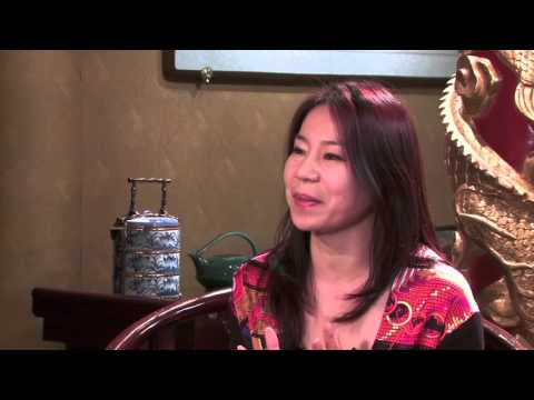 Donna Li, Renren.com GM talks with JWT's Bob Jeffrey